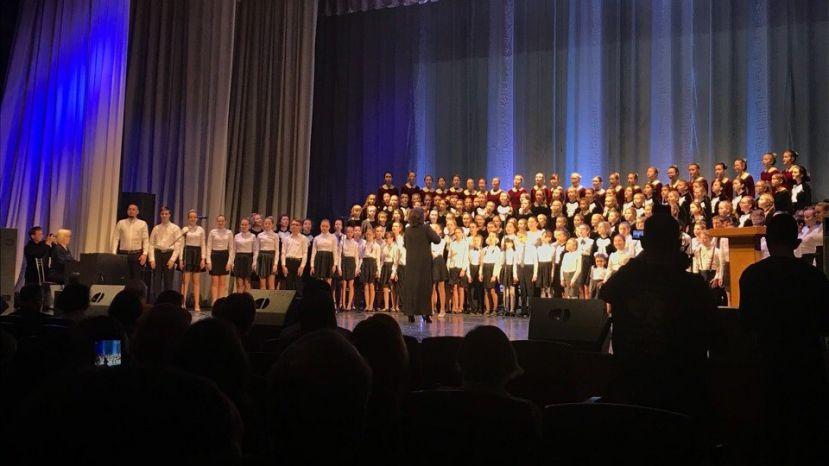 В Удмуртии создали самый большой в мире хор детей-инвалидов