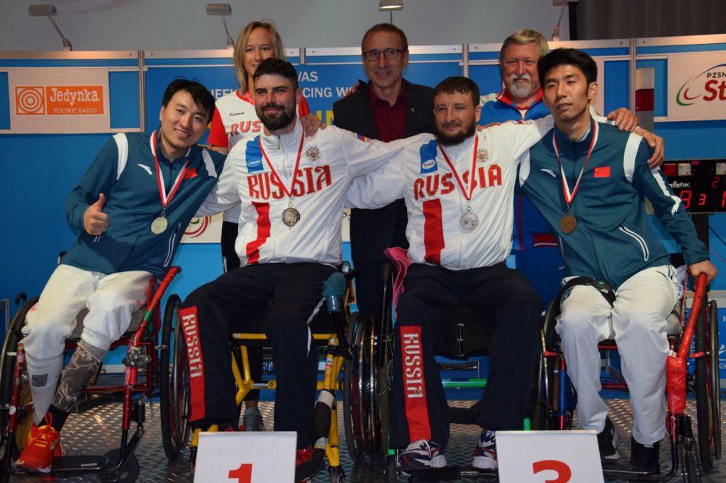 4 бронзовые медали привезли череповецкие фехтовальщики сКубка мира